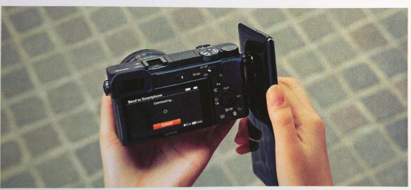nfc smartphone sony a6400 poza