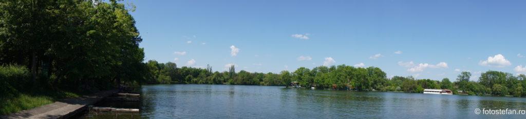 fotografie panoramica parc herastrau bucuresti