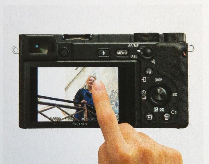 ecran tactil aparat foto sony a6400