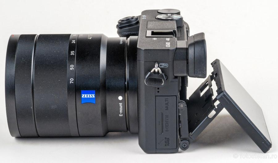 poza aparat foto Sony a6400