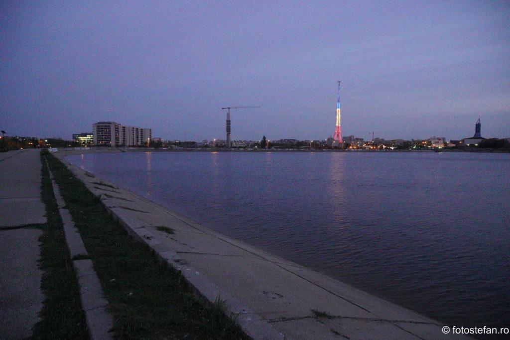 poza lacul morii antena sts noaptea