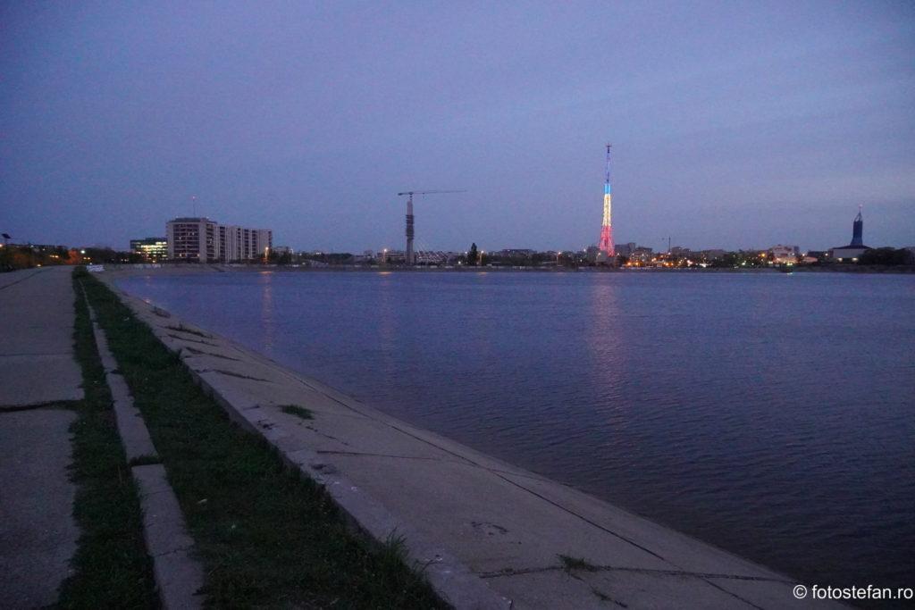 poza iso 12800 sony a6400 noaptea lacul morii antena sts