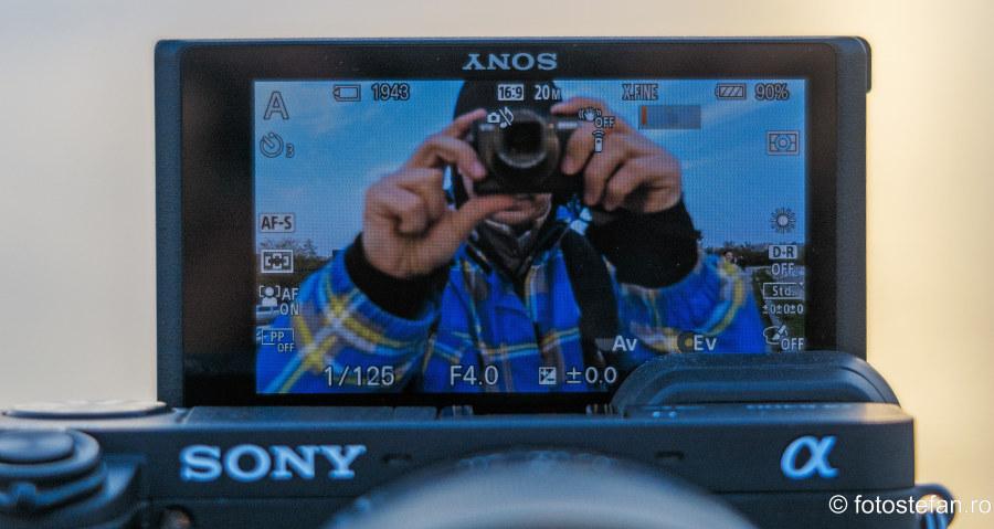 selfie aparat foto sony ilce-6400