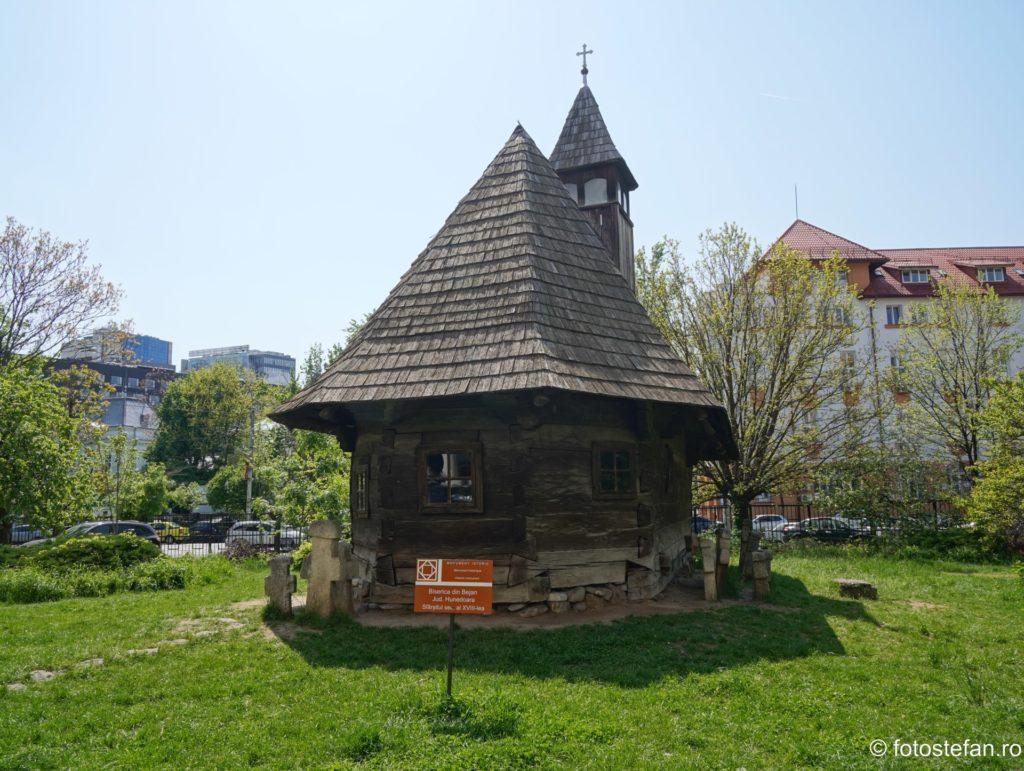 fotografie hdr biserica lemn bucuresti romania