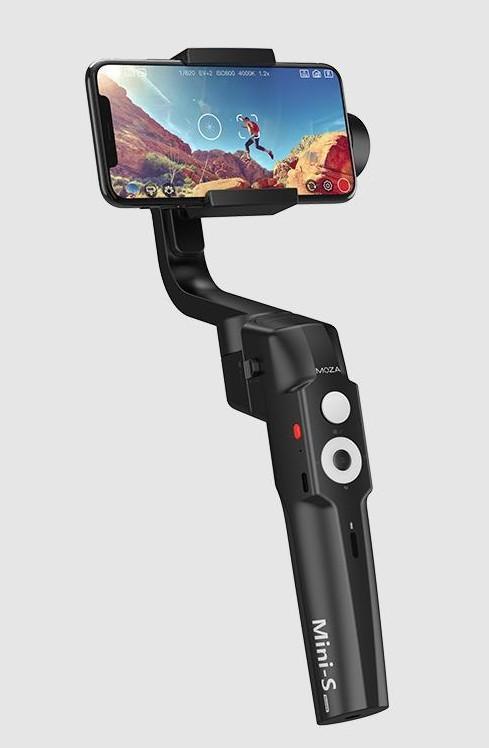 poza Moza Mini-S gimbal telefon mobil fotografii