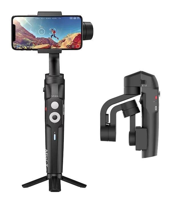 Moza Mini-S stabilizator pliabil smartphone poze