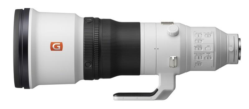 poza teleobiectiv Sony FE 600mm F4 GM OSS model SEL600F40GM