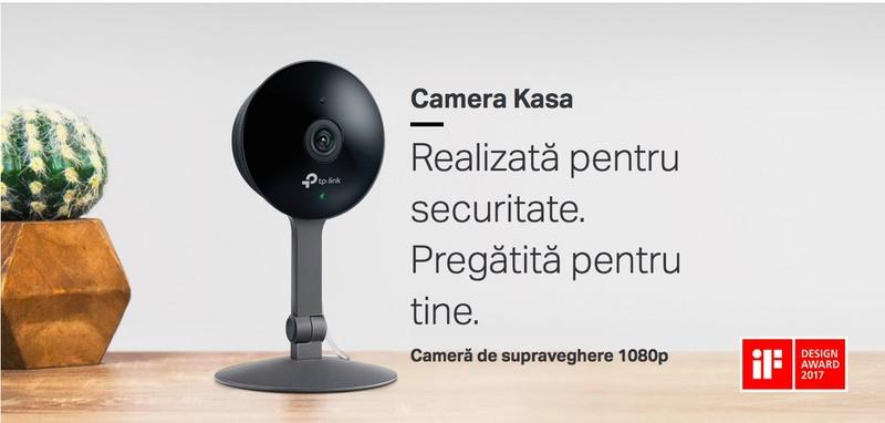 Gadgeduri TP-Link camera video supraveghere interior KC120