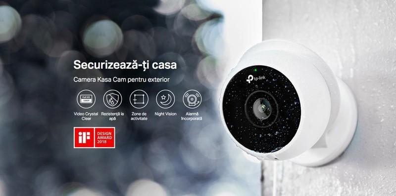 Gadgeduri TP-Link kc200 camera video supraveghere exterior