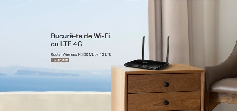 poza Gadgeduri TP-Link mr6400 router