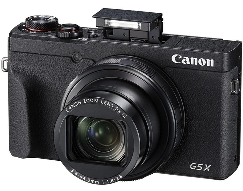 poza blit aparat foto compact performant Canon