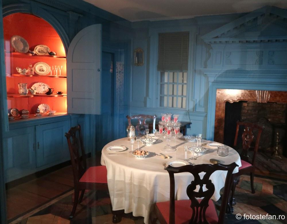 poza interior casa americana muzeu new york