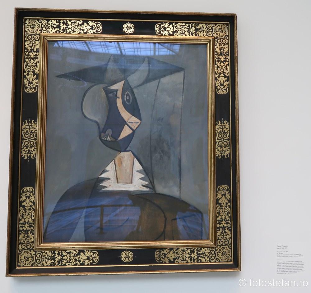 poza tablou pablo picasso muzeu brooklyn america new york