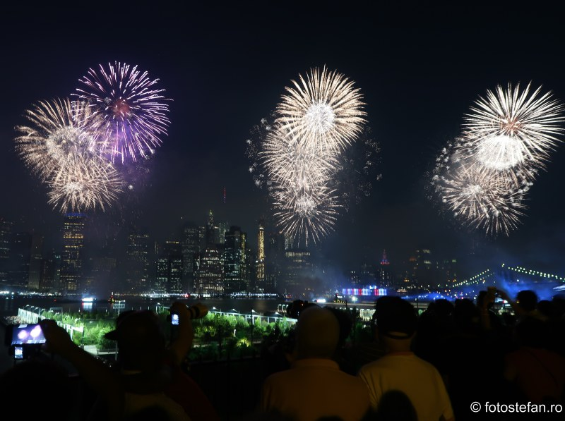 artificii 4 iulie new york america ziua independentei