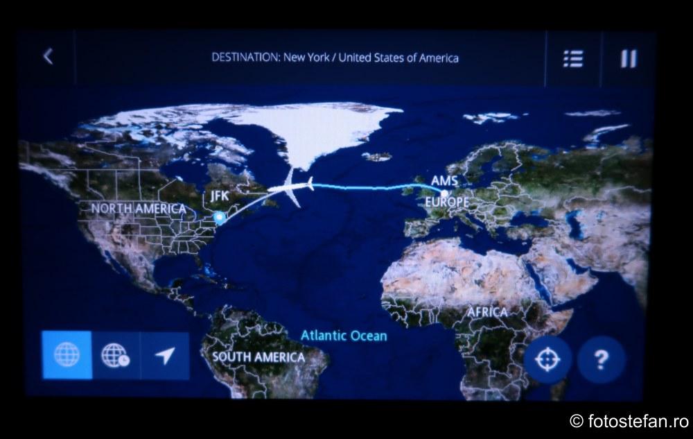 calatorie avion america poza ecran lcd