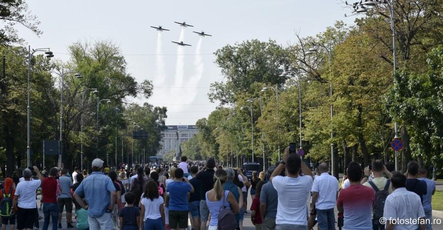 imagini avioane survol bucuresti 20 iulie