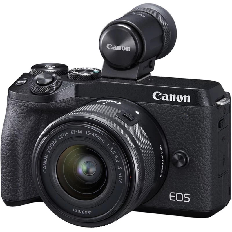 Canon EOS M6 Mark II poza aparat foto mirrorless