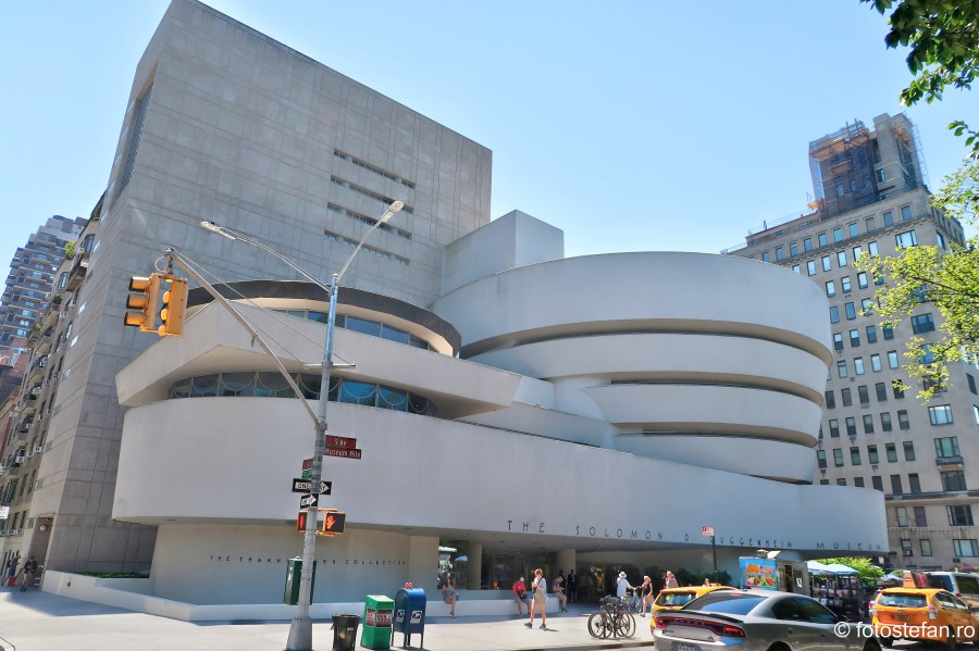Muzeul Guggenheim din New York obiectiv turistic America