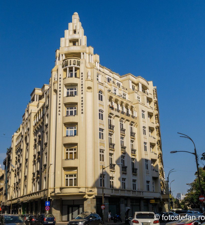 poza arhitectura Hotelul Union Bucuresti