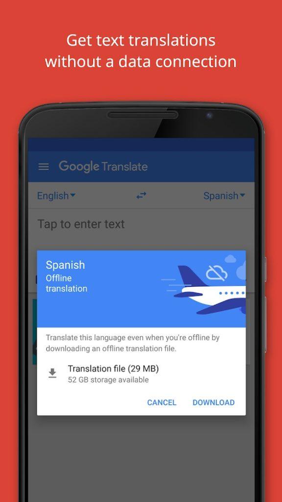aplicatie gratuita traducere telefon mobil calatorii Instant Camera Translation