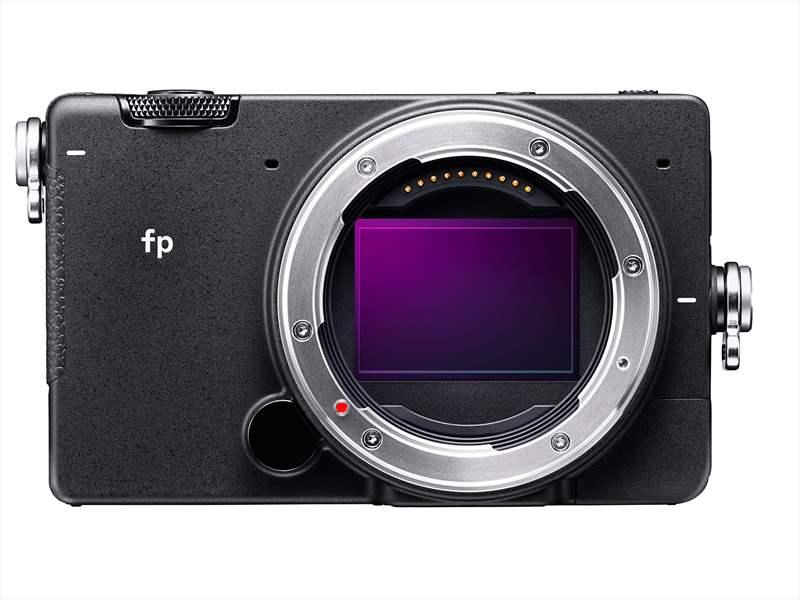 Sigma fp aparat foto mirrorless senzor ful frame