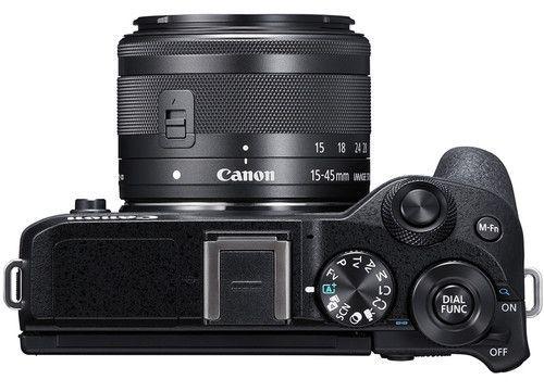 butoane aparat foto mirrorless Canon EOS M6 Mark II