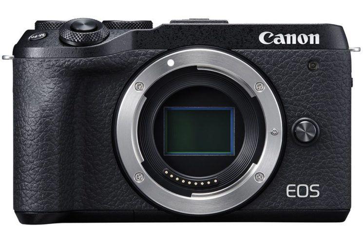poza senzor Canon EOS M6 Mark II