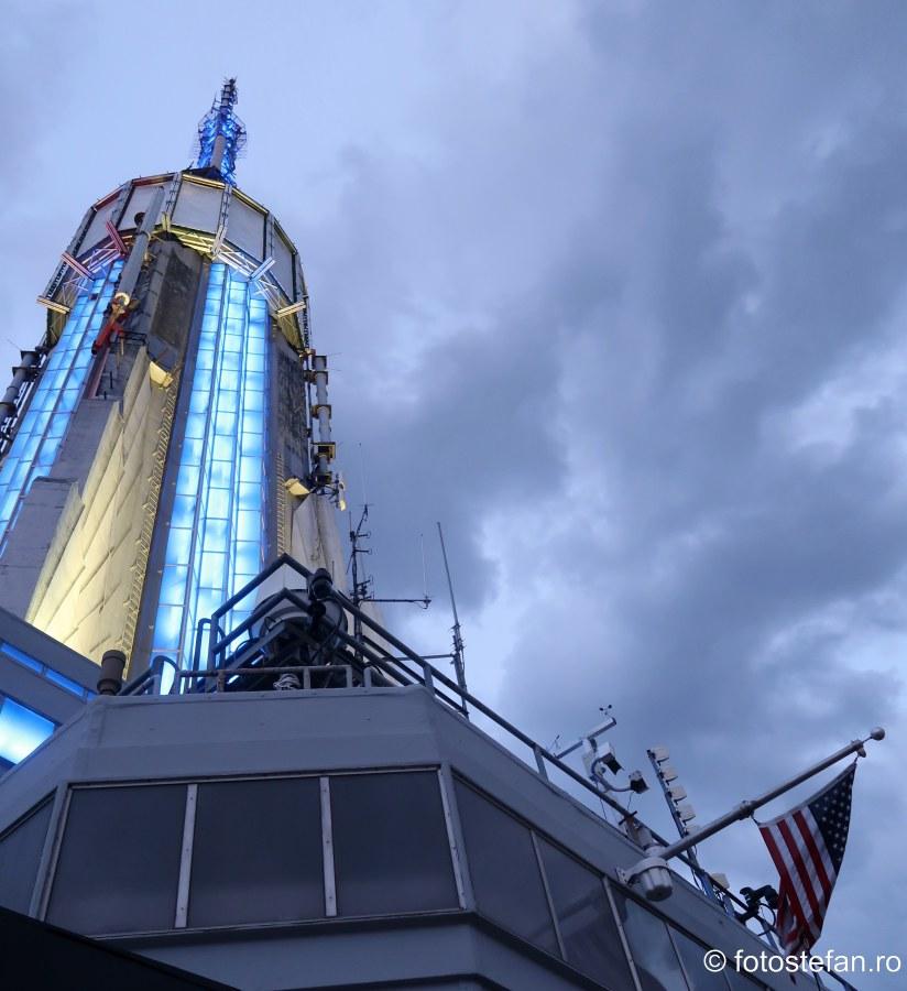 poza antena Empire State Building zgarie nori new york