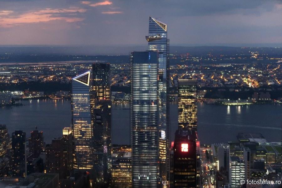 poza seara new york lumini zgarie nori