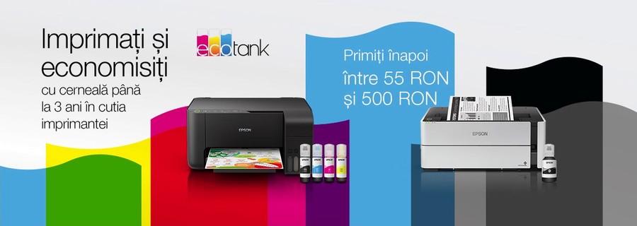 Cashback imprimante Epson promotie reduceri