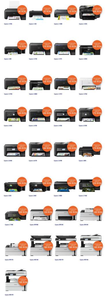promotie imprimante epson ecotank reduceri oferte
