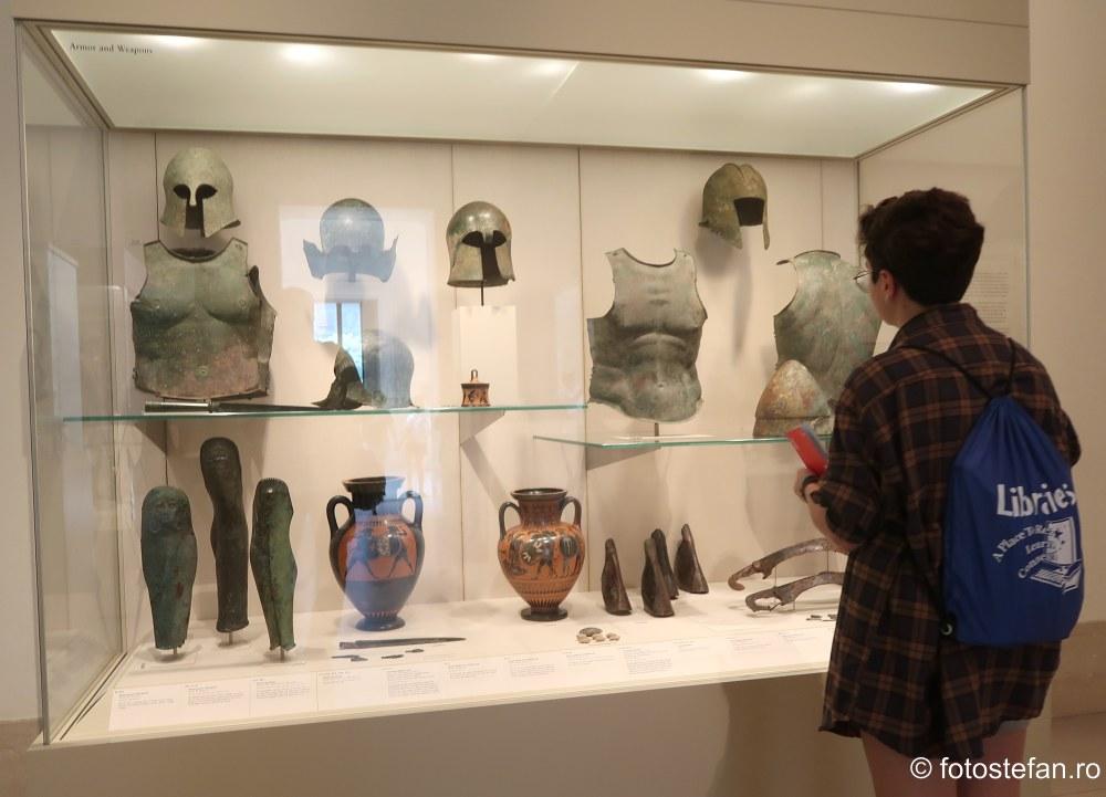 fotografii Muzeul Metropolitan de Arta din New York obiectiv turistic manhattan