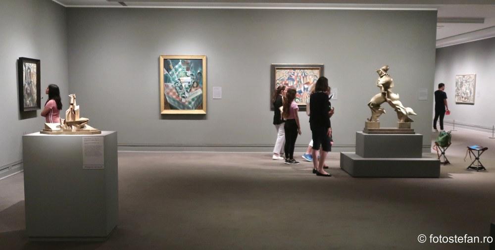 vizitatori obiectiv turistic muzeu de arta new york america