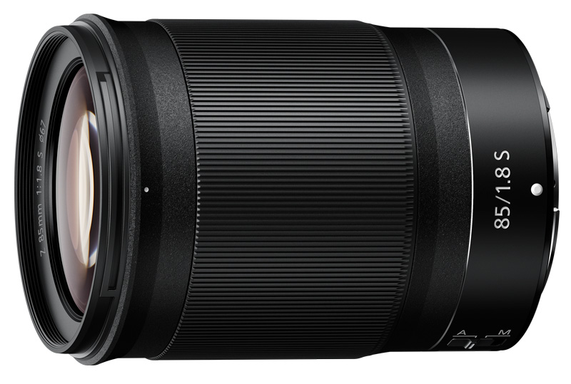 Nikon Z 85mm f/1.8 poza obiectiv mirrorless Nikon Z