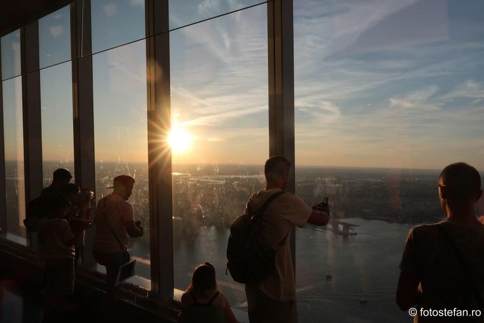 apus new york One World Trade Center obiectiv turistic