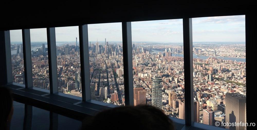 priveliste zgarie nori One World Trade Center New York