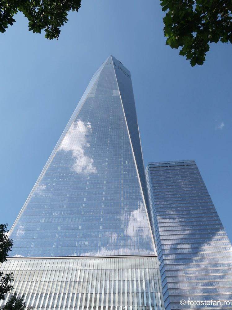poza zgarie nori One World Trade Center New York