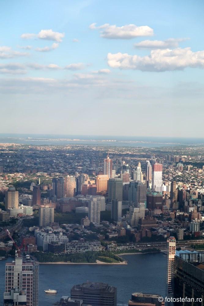 manhattan vazut Freedom Tower new york vacanta