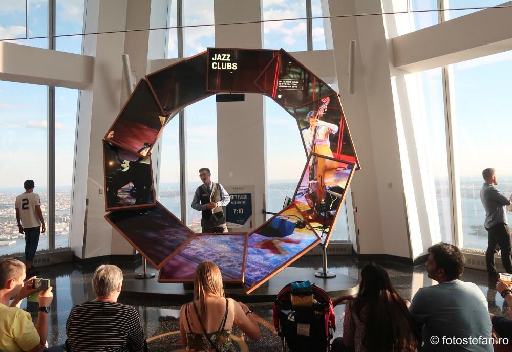 discutie jazz One World Observatory new york america
