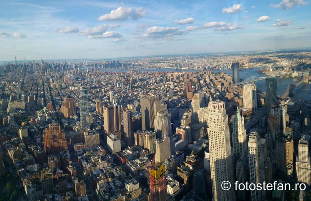 poza panoramica new york cladiri manhattan america