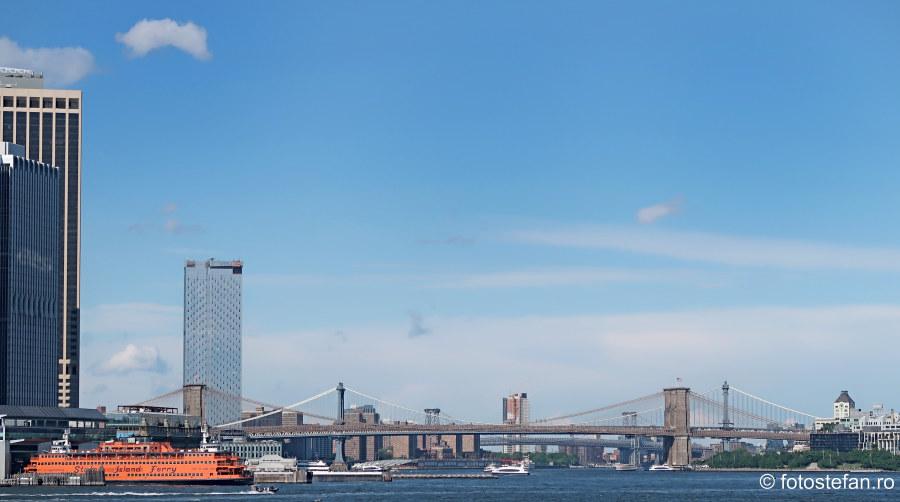 podul Brooklyn fotografii turism new york america obiectiv turistic