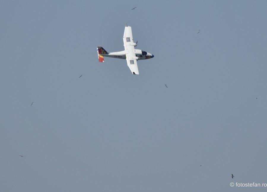 fotografii acrobatie aeriana Tecnam P2006T