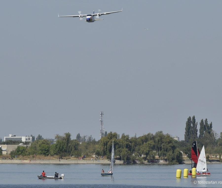 spectacol aerian nautic lacul morii biplan Tecnam P2006T Aeronautic Show 2019