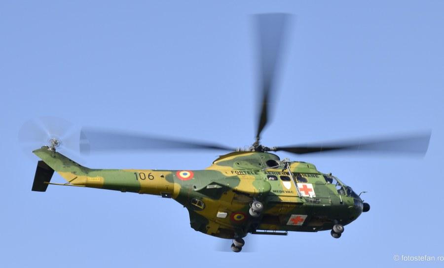 poza iar 330 puma medevac acrobatie aeriana lacul morii bucuresti