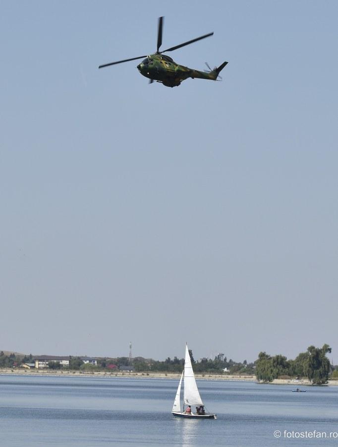 spectacol aerian elicopter militar AeroNautic Show 2019 lacul morii