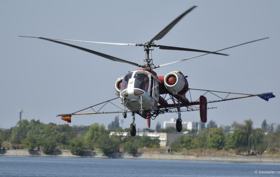fotografie elicopter agricol Valer Novac Kamov Ka-26 Aeronautic Show 2019