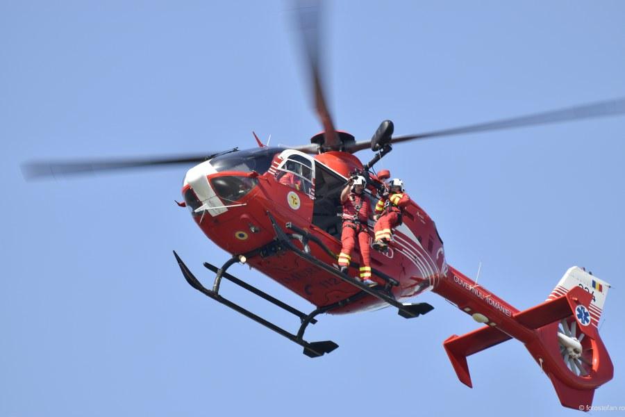 fotografii elicopter smurd echipaj