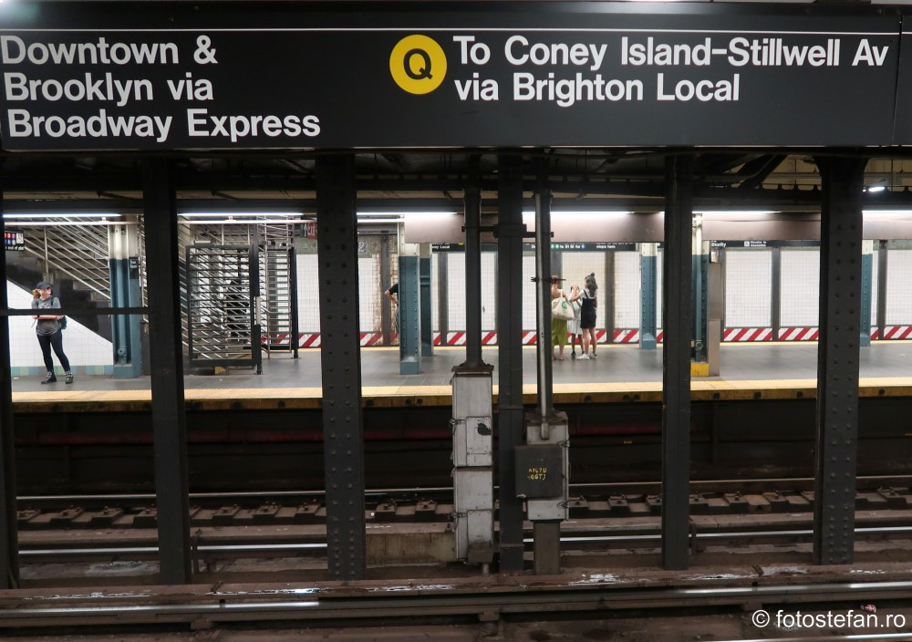 statie metrou new york manhattan america