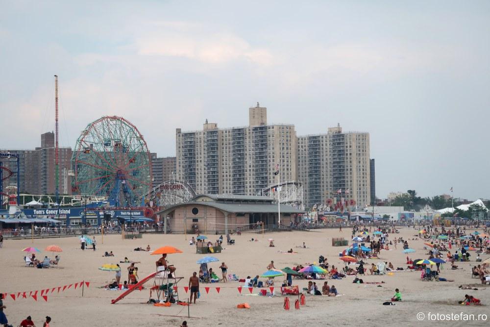 Coney Island new york america calatorie poze