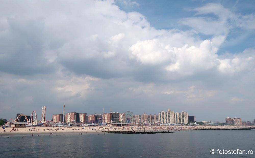 fotografii vacanta Coney Island new yotk sua turism